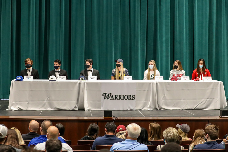 Westminster Christian School, Student Athlete Signing Ceremony