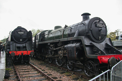 24th October 2009 - Giants of Steam 2009