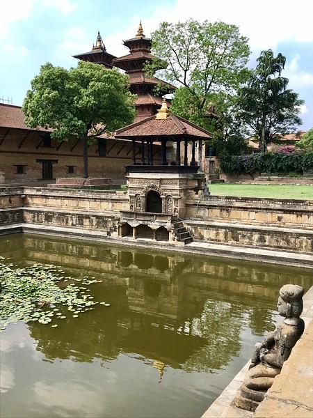 royal palace in Bhaktapur