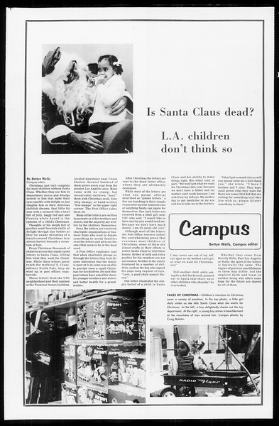 Daily Trojan, Vol. 65, No. 55, December 12, 1972