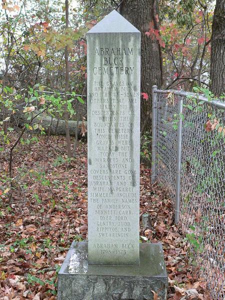 Abraham Buck Cemetery