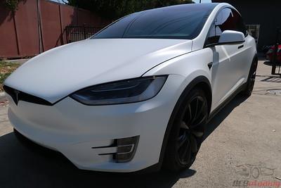 2017 Model X 100D - Multicoat White
