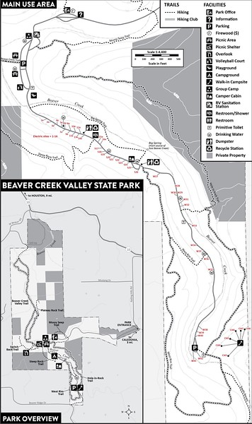 Beaver Creek Valley State Park (Main Use Area)