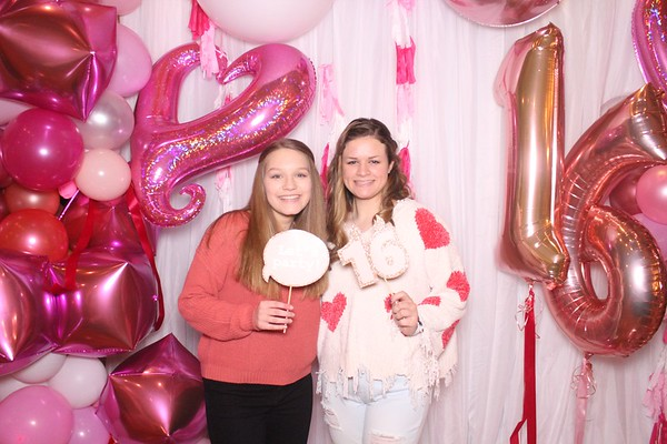 Elizabeth's Sweet 16 Party 02.14.20