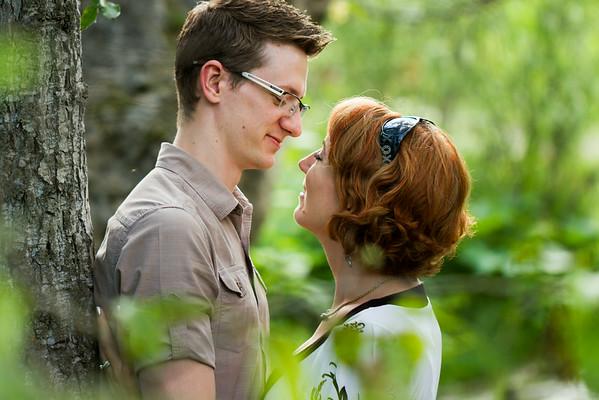 Kathryn and Alex