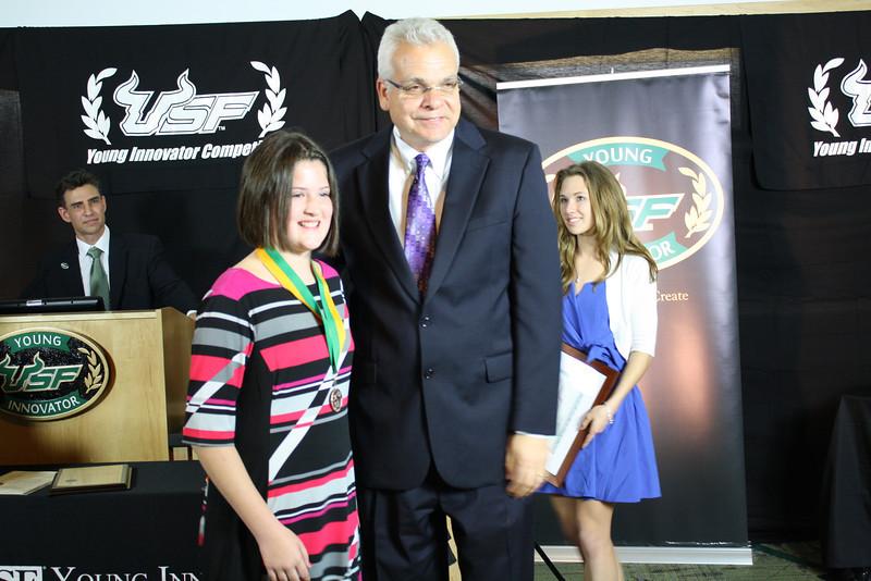 Hannah Fowler and Dr. Paul Sanberg