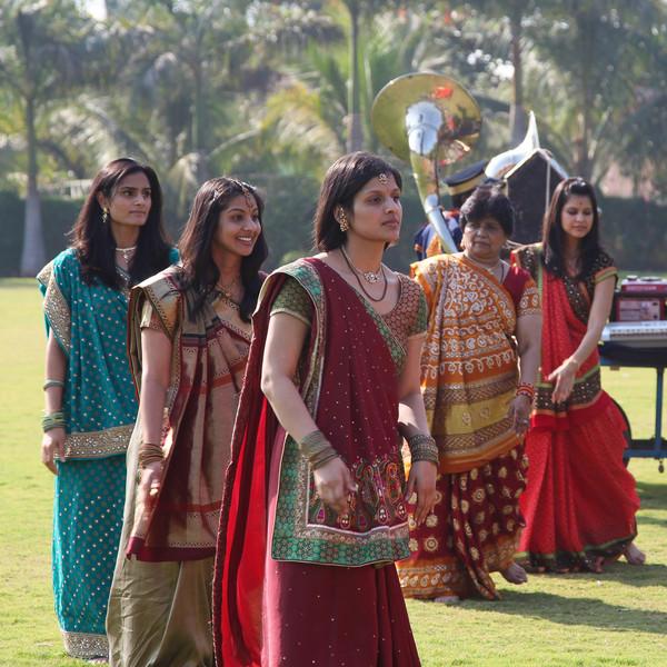 Dancing at the Vidhi.