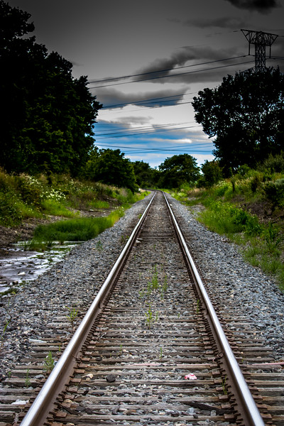 Railroad Tracks, Minooka, Illinois
