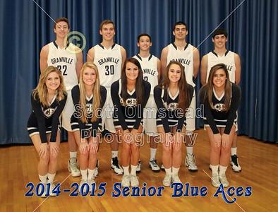 2014-2015 Granville Blue Ace Seniors (11-25-14)