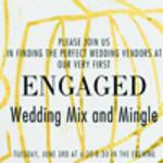 Engaged Wedding Mix And Mingle
