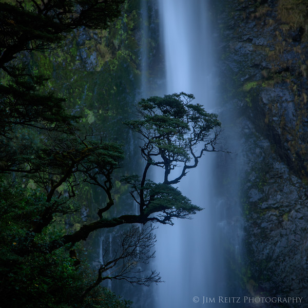 Devil's Punchbowl Falls, Arthur's Pass, Canterbury, New Zealand