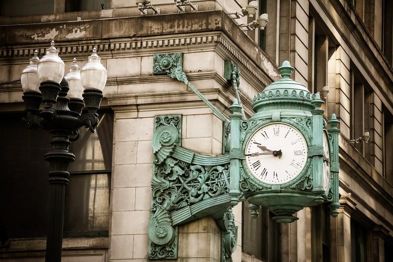 Clock Chicago