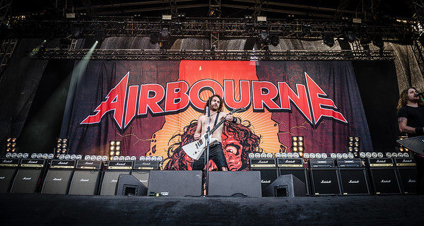 Airbourne at Tons Of Rock 2017