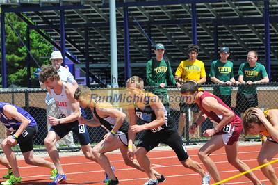 Men's 1500 Finals - 2013 GLIAC Outdoor Track and Field Finals