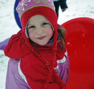 Grace w sled Jan 21, 2007.jpg