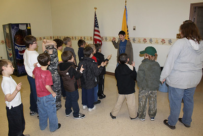 Tiger Scouts Learn About Media Reporting, St Johns UCC, Tamaqua (3-22-2011)