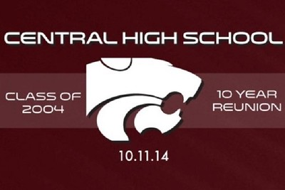 Central High 10 Year Reunion 10/11/14