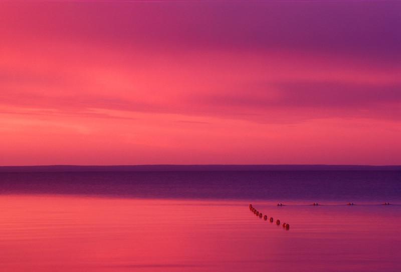 Cold Lake Sunset #1