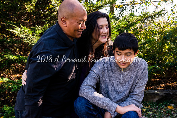 Gina Ray and family 2018