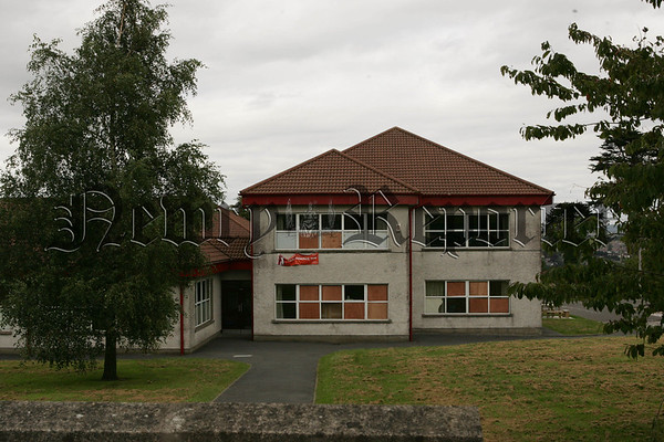 Numerous windows have had to be boarded up a week before the start of a new school term at St Malachy's P.S. Carnagat due to vandalism. 07W35N34