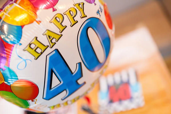 Danny's 40th Birthday