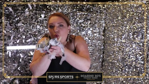 360 VIDEOS - Spurs Holiday Soiree