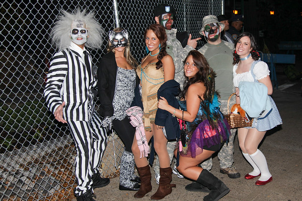 Halloween parade New York 2011 - October 31, 2011
