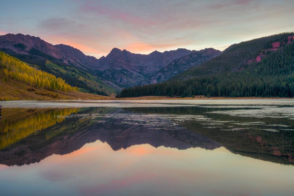 Piney lake Vail Colorado