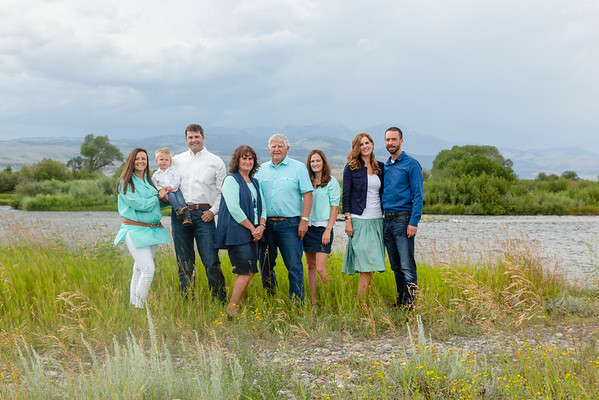 Slevin Family - Ennis, MT
