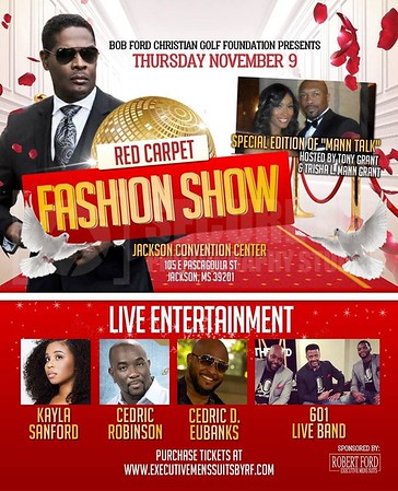 BOB FORD RED CARPET FASHION SHOW 11-9-17