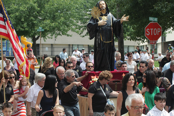 St. Francis Day procession