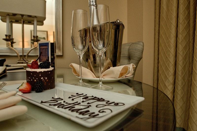 Birthday Surprise from the St Regis Buckhead