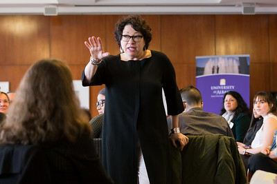 2017 Justice Sotomayor Speaks with Students