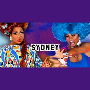 Latrice Royale and Jujubee , Arq Sydney 22nd July 2017