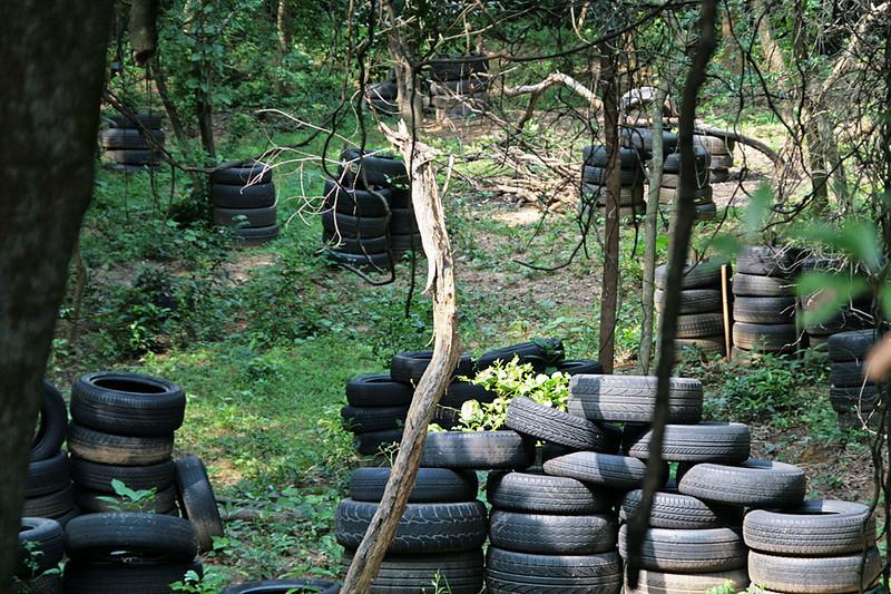 Tai Lam Country Park, MecLehose Trail Section 9, Junkyard