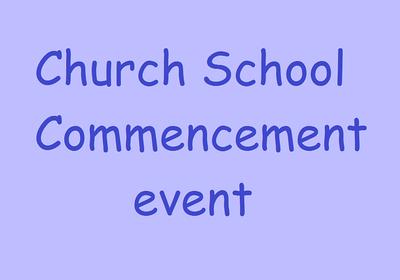 Church school final event