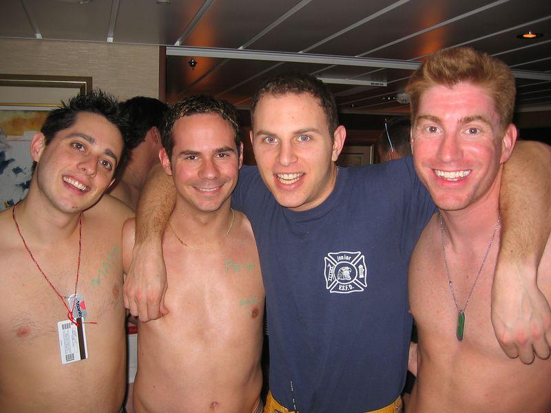 Matt, Pete, Ryan and me