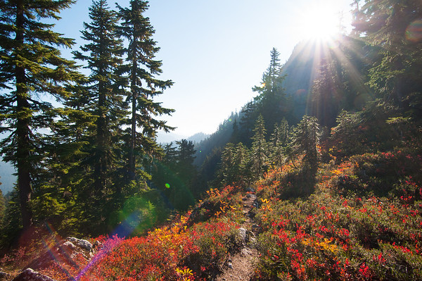 2012-10-5  Tinkham-Silver Peaks hike