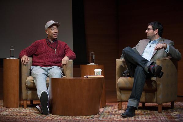 Russell Simmons + David Vago