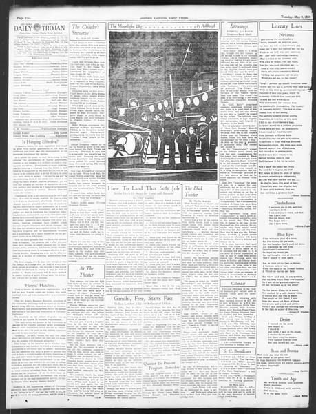 Daily Trojan, Vol. 24, No. 139, May 09, 1933