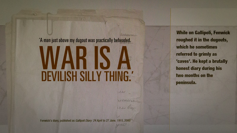 «Krieg ist eine teuflisch unsinnige Sache» schreibt der Feldarzt in sein Tagebuch.