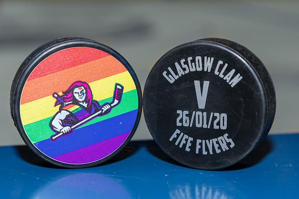 Clan v Flyers 26012020 Pride weekend