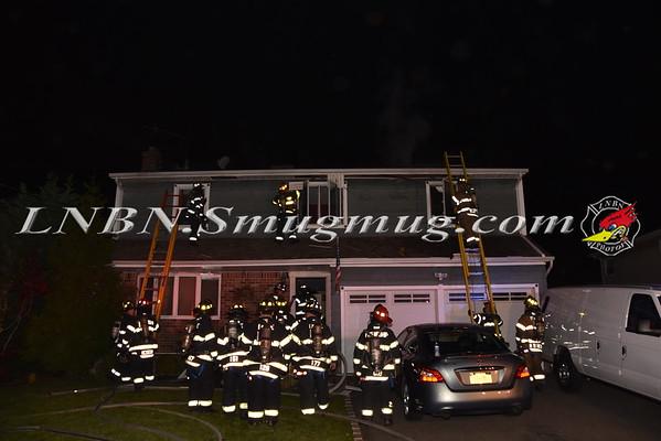 Merrick F.D. House Fire 1785 Rutgers Place 11-11-15