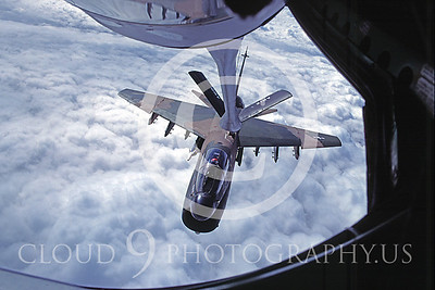USAF Vought A-7 Corsair II Aerial Refueling Pictures