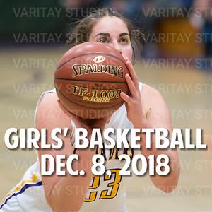 Lutheran Girls Basketball 12-8-2018