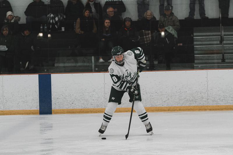 Holy Family Varsity Girls Hockey vs. Waconia, 1/9/20: Maeve Kelly '22 (8)