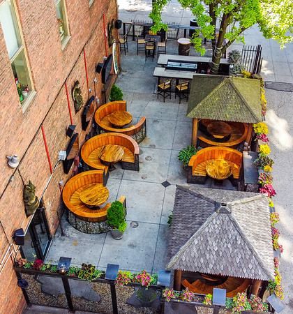 Barley House CLE Summer Patio