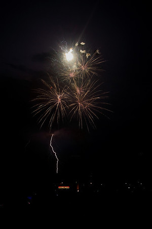 Waltham Fireworks 07-04-2012