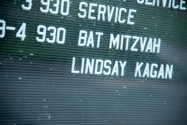 Lindsay's Bat Mitzvah