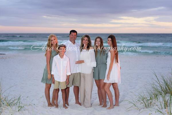 The Krach family 2020  |  Panama City Beach